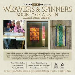 Gallery Exhibit Opening: Weavers and Spinners Society of Austin